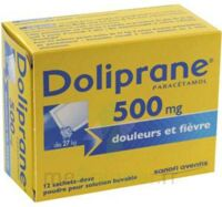 Doliprane 500 Mg Poudre Pour Solution Buvable En Sachet-dose B/12 à Hayange