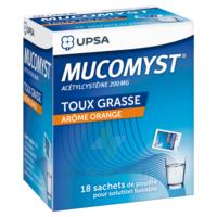 Mucomyst 200 Mg Poudre Pour Solution Buvable En Sachet B/18 à Hayange