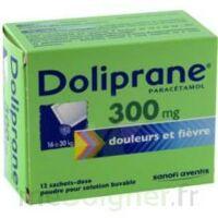 Doliprane 300 Mg Poudre Pour Solution Buvable En Sachet-dose B/12 à Hayange