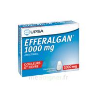 Efferalgan 1000 Mg Comprimés Pelliculés Plq/8 à Hayange