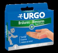Urgo Brulures-blessures Petit Format X 6 à Hayange