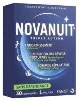 Novanuit Triple Action Comprimés B/30 à Hayange