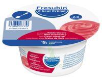 Fresubin 2kcal Crème Sans Lactose Nutriment Fraise Des Bois 4 Pots/200g à Hayange