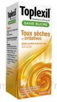 Toplexil 0,33 Mg/ml Sans Sucre Solution Buvable 150ml à Hayange