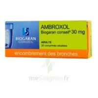 Ambroxol Biogaran Conseil 30 Mg, Comprimé Sécable à Hayange