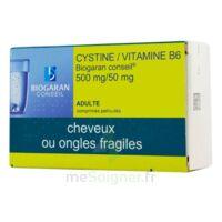 Cystine/vitamine B6 Biogaran Conseil 500 Mg/50 Mg Cpr Pell Plq/120 à Hayange