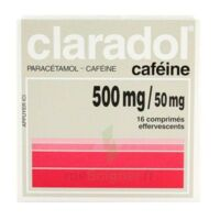 Claradol Cafeine 500 Mg/50 Mg, Comprimé Effervescent à Hayange