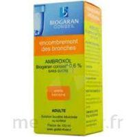 Ambroxol Biogaran Conseil 0,6 % Solution Buvable Sans Sucre édulcorée Au Sorbitol Fl/100ml+godet à Hayange