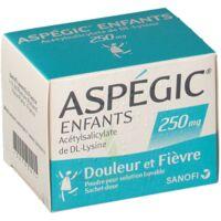 Aspegic Enfants 250, Poudre Pour Solution Buvable En Sachet-dose à Hayange