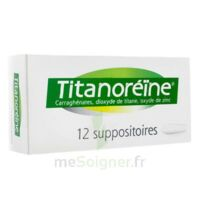 Titanoreine Suppositoires B/12 à Hayange