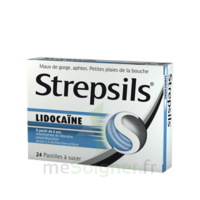 Strepsils Lidocaïne Pastilles Plq/24 à Hayange