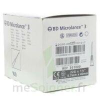 Bd Microlance 3, G22 1 1/2, 0,7 M X 40 Mm, Noir  à Hayange