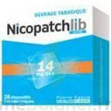 Nicopatchlib 14 Mg/24 H Dispositifs Transdermiques B/28 à Hayange