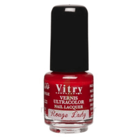Vitry Vernis à Ongles Rouge Lady Mini Fl/4ml à Hayange