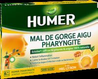 Humer Pharyngite Pastille Mal De Gorge Miel Citron B/20 à Hayange